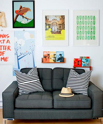 80后最爱的时尚轻巧布艺沙发